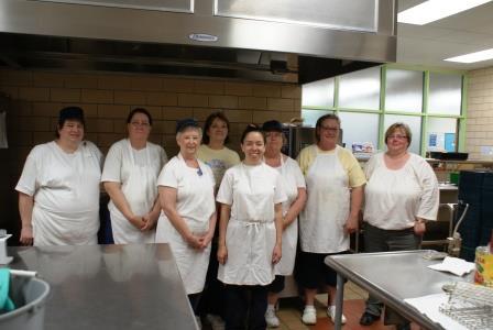 Middle School Kitchen Staff